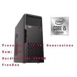 Computer Desktop PC Tower ADJ Intel i5