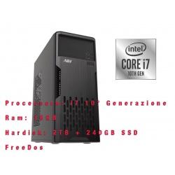 Computer Desktop PC Tower ADJ Intel i7