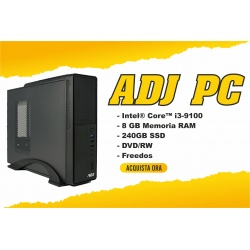 Computer Desktop PC Tower ADJ Intel i3