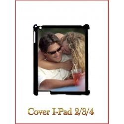 Cover in Plastica I-Pad 2/3/4 con inserto in alluminio sublimatico
