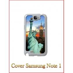 Cover in Plastica Samsung Note 1 con inserto in alluminio sublimatico