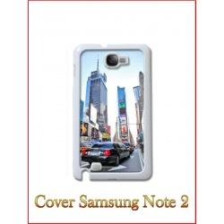 Cover in Plastica Samsung Note 2 con inserto in alluminio sublimatico