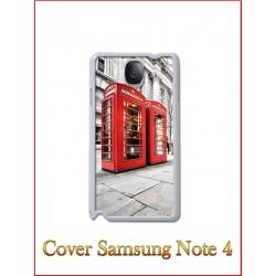 Cover in Plastica Samsung Note 4 con inserto in alluminio sublimatico