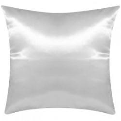 Cuscino Raso Bianco 40x40 cm. poliestere 100%