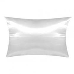 Cuscino  Raso Bianco 70x40 cm. poliestere 100%