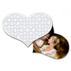 Puzzle Cuore A4 ( 119 Tasselli )