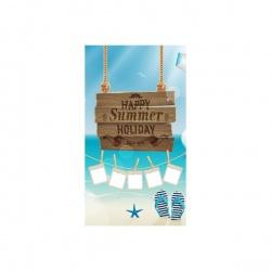 Telo Mare Personalizzato Happy Summer estate 2015